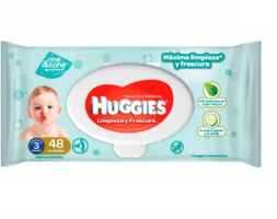 Huggies Toallas Humedas One & Done x 48 Unidades