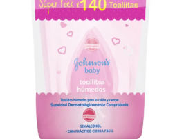 Johnson Toallas Húmedas Bolsa 70 + 70 Original